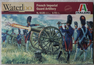 Italeri 1/72 IT6135 French Imperial Guard Old Guard Foot Artillery (Napoleonic)